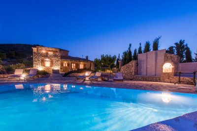 Crystal, Villa Agios Nikolaos, Zakynthos, Greece, swimming pool