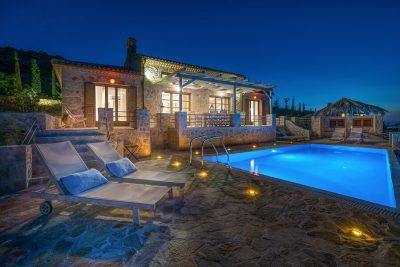 Villa Harmonia, Agios Nikolaos, Zante, Ionian Islands, swimming pool, sunbeds