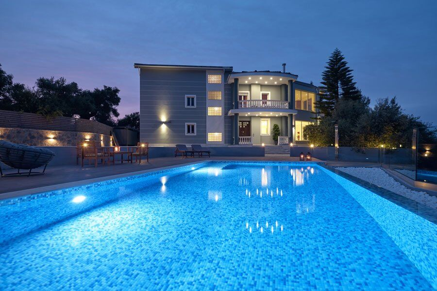 Mont Bleu, Luxury Villa, Akrotiri, Zakinthos, Greece, large swimming pool