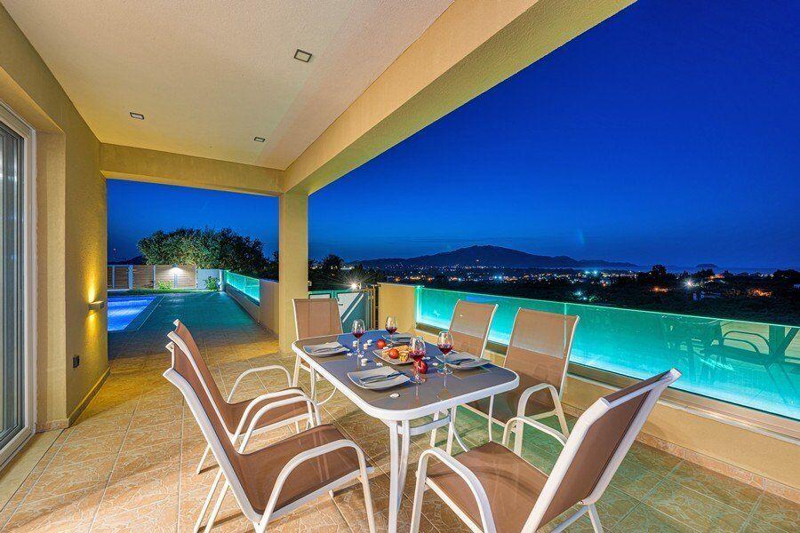 Villas Hill Greece Villas Zakynthos Villa Laganas pool