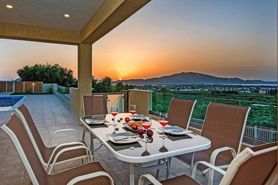 Villas Hill Greece Villas Zakynthos Villa Laganas living room