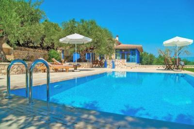 Villa Vakis private pool Zante