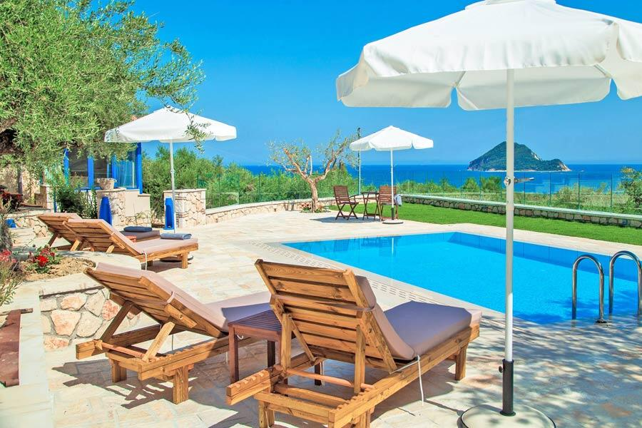 Villa Vakis sea view private pool Zakynthos Greece